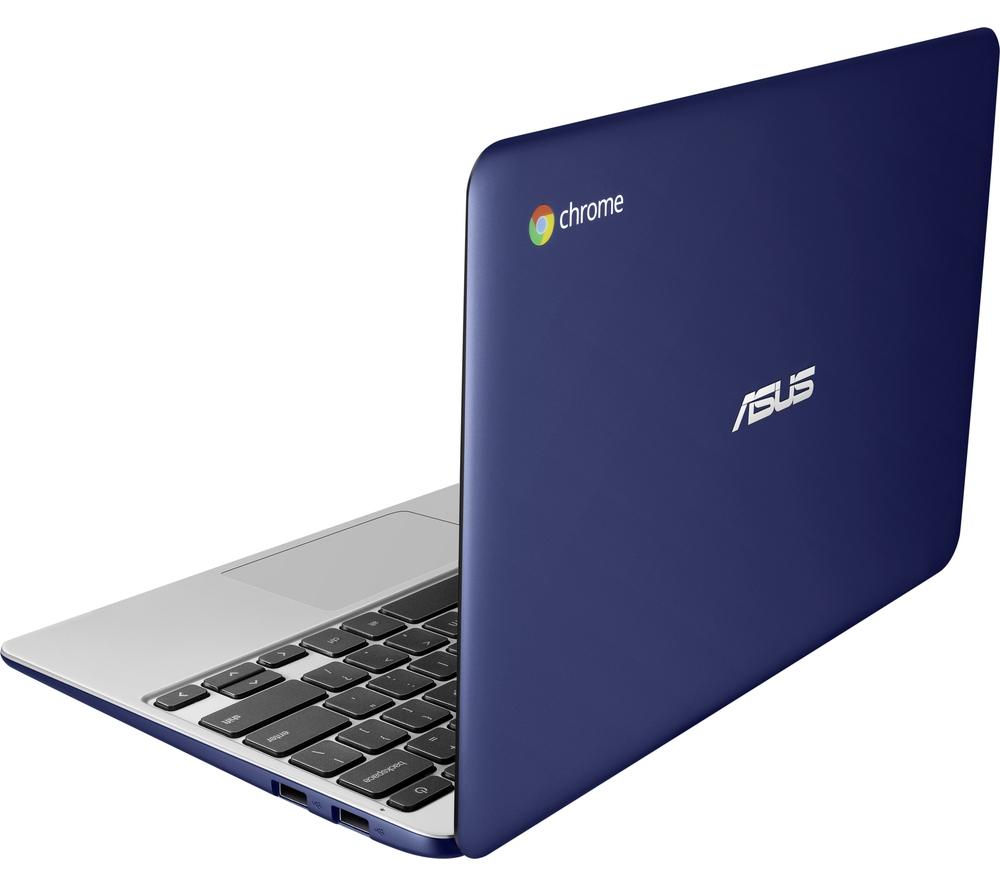 "ASUS C201PA 11.6"" Chromebook - Blue"
