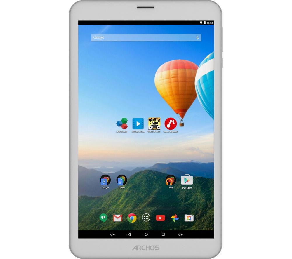 """ARCHOS 80c Xenon 8"""" 3G Tablet - 16 GB, Silver"""