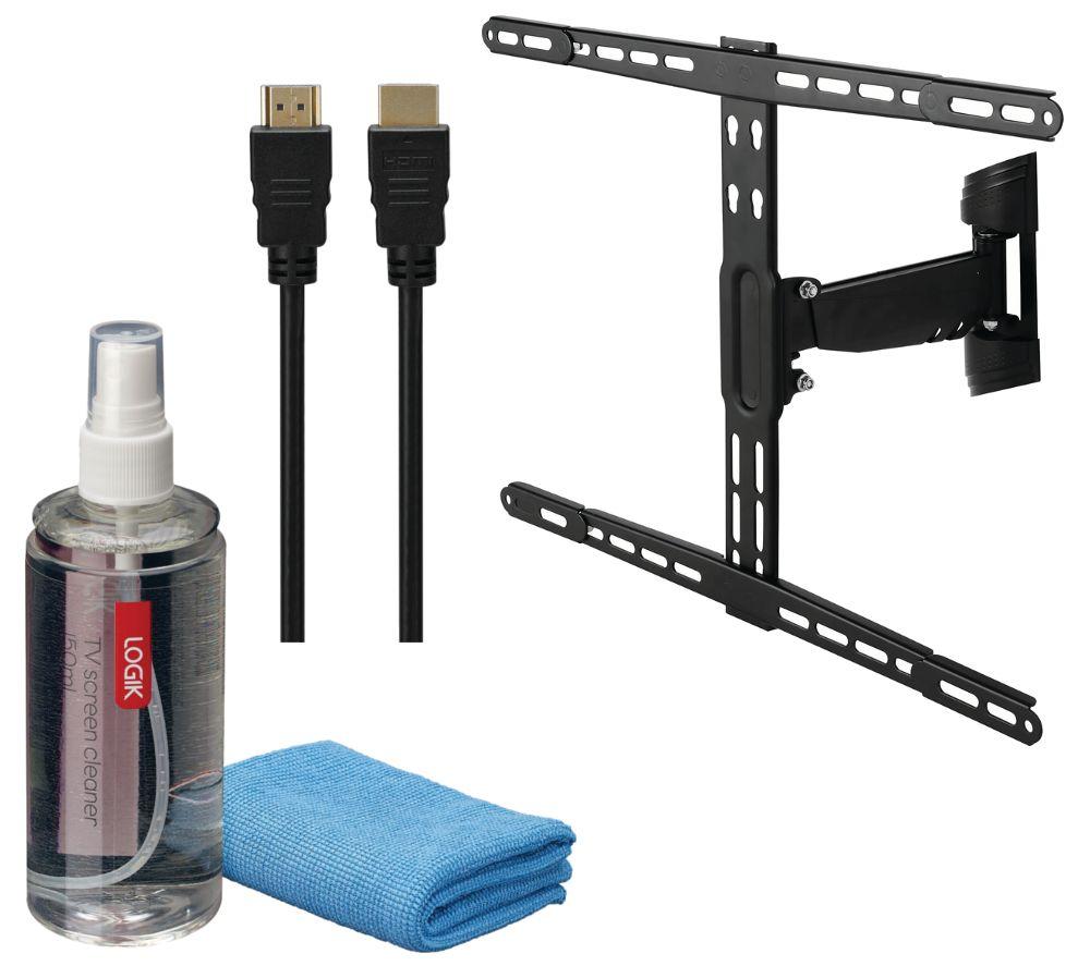 LOGIK LFMSKM16 Full Motion TV Bracket Starter Kit