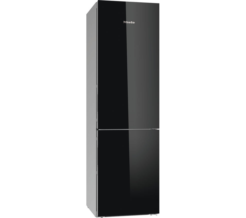 MIELE KFN 29683 D obBl 70/30 Fridge Freezer - Black