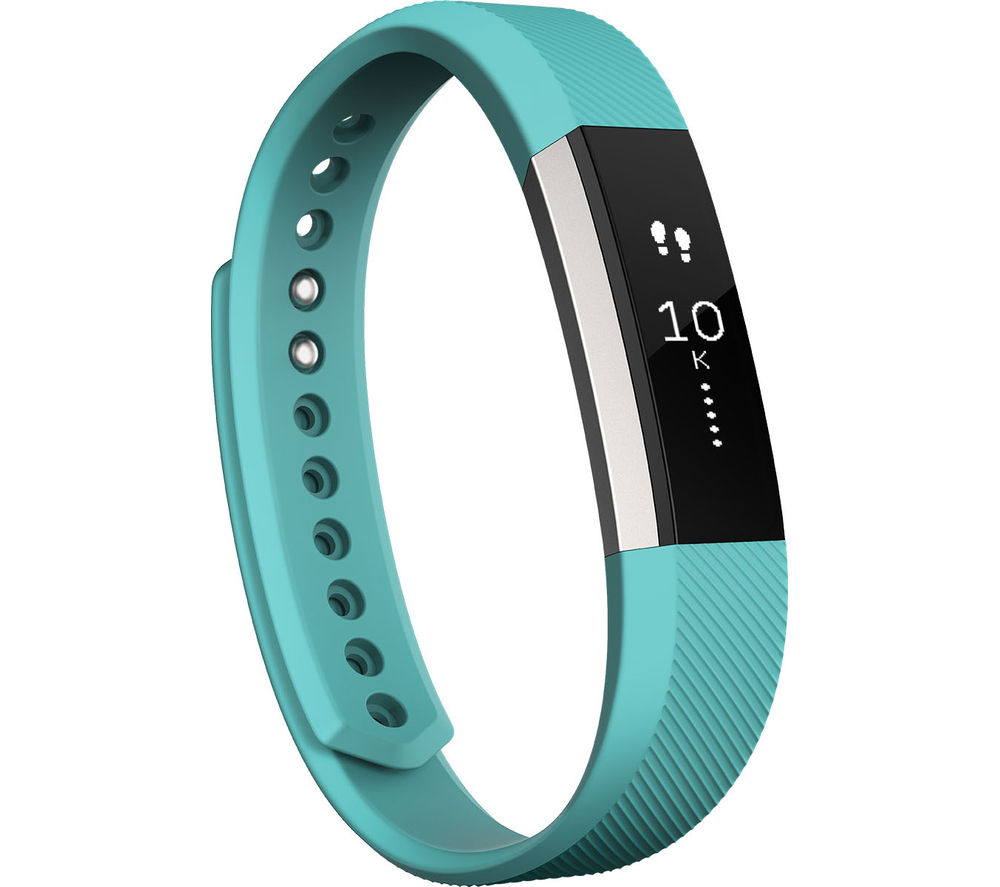 FITBIT Alta - Teal, Large