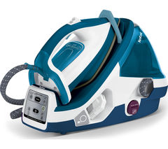 TEFAL Pro Express Total GV8963 Steam Generator Iron - Turquoise & White