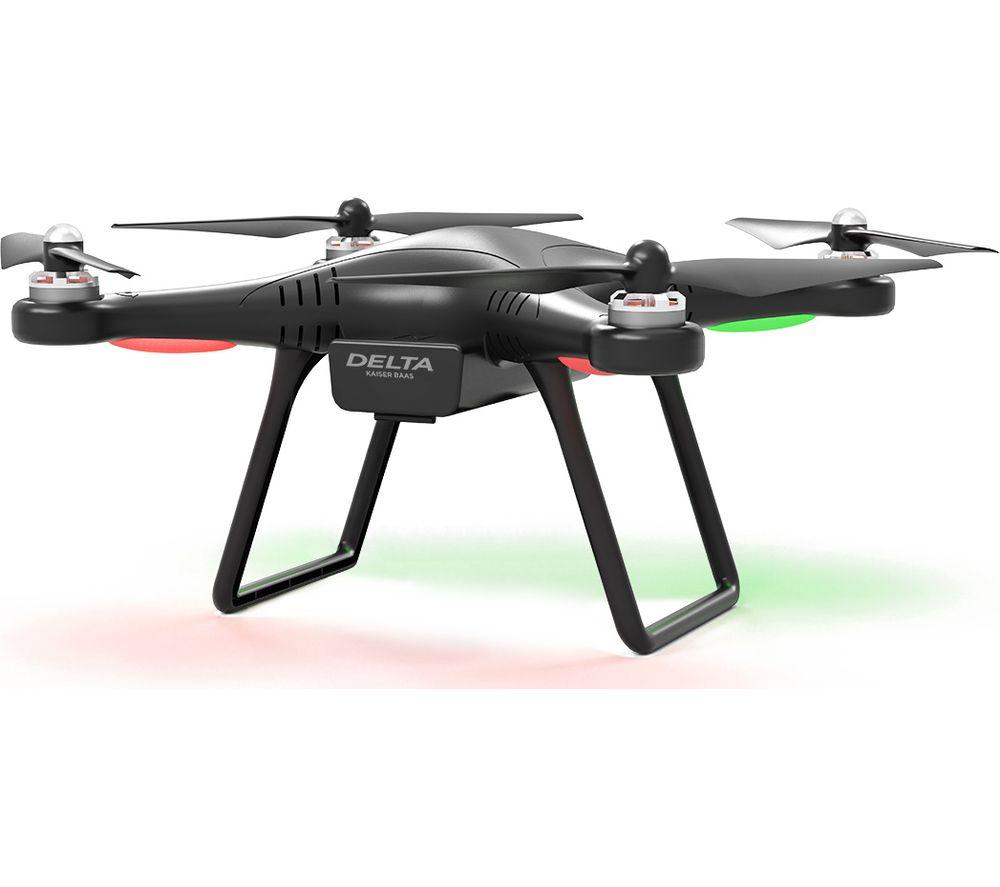 KAISER BAAS Delta KBA15007 Drone with Controller - Black
