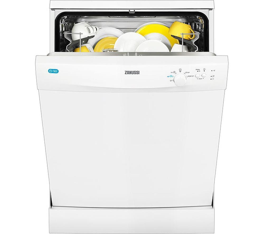 ZANUSSI  ZDF21001WA Fullsize Dishwasher  White White