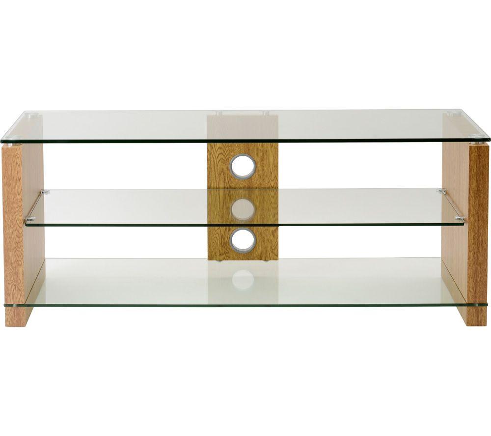 TTAP  Elegance 1200 TV Stand  Oak