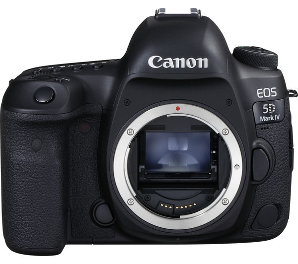 Image of CANON EOS 5D Mark IV DSLR Camera - Black, Body Only