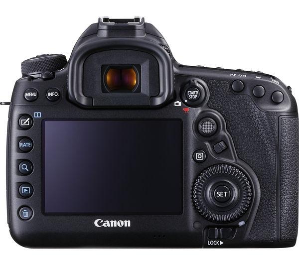Buy Canon Eos 5d Mark Iv Dslr Camera Black Body Only