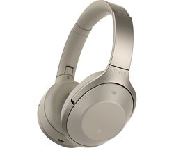 SONY MDR-1000X Wireless Bluetooth Noise-Cancelling Headphones - Grey