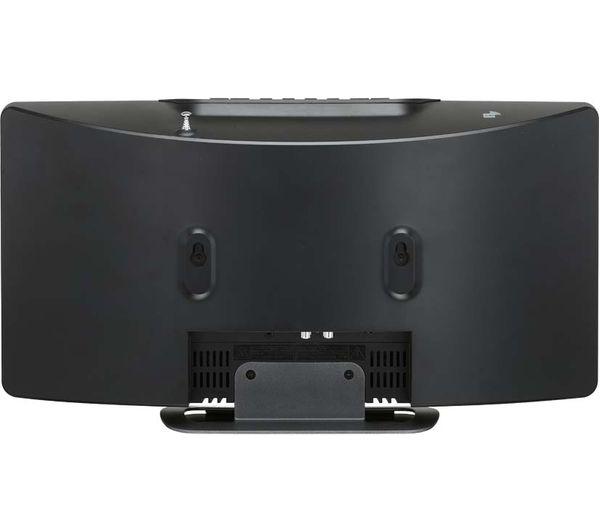 jvc rd d227b wireless flat panel hi fi system gun metal. Black Bedroom Furniture Sets. Home Design Ideas