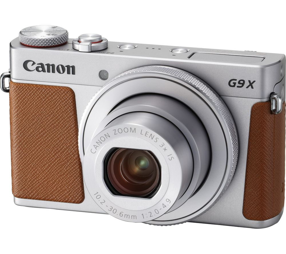 CANON PowerShot G9X MK II High Performance Compact Camera - Silver
