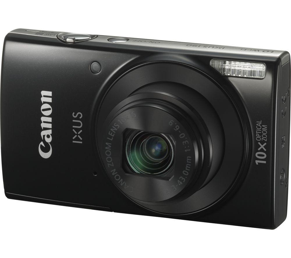 CANON IXUS 190 Compact Camera - Black