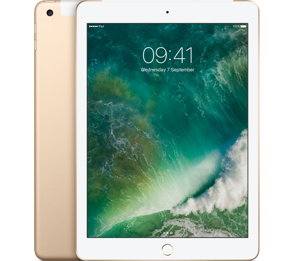"APPLE 9.7"" iPad - 128 GB, Gold"