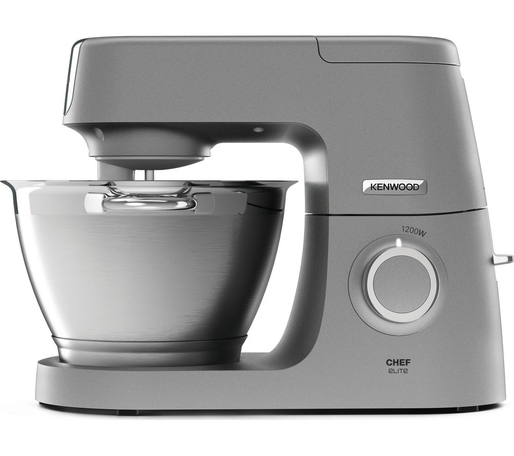 Buy Kenwood Chef Elite Kvc5100s Stand Mixer Silver Free Delivery Currys