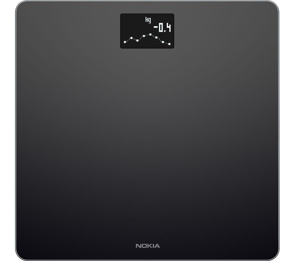 NOKIA Body WBS06 BMI Smart Scale - Black