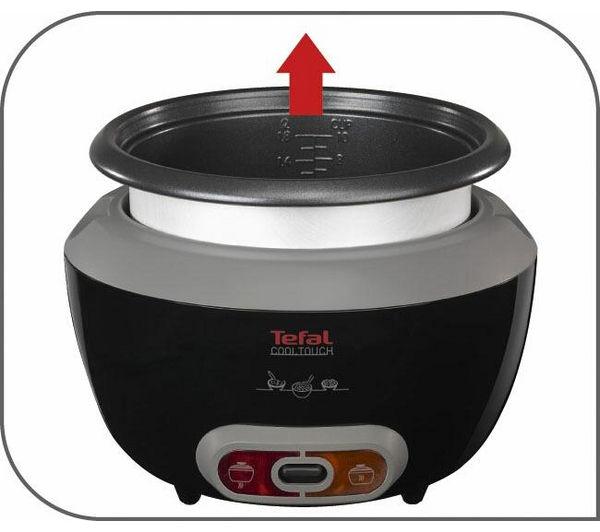 Rk1568uk Tefal Rk1568uk Cooltouch Rice Cooker Black