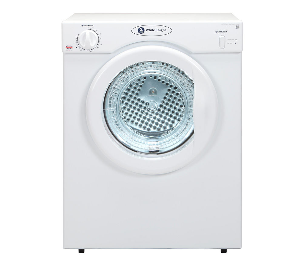 WHITE KNIGHT C3A Vented Tumble Dryer - White