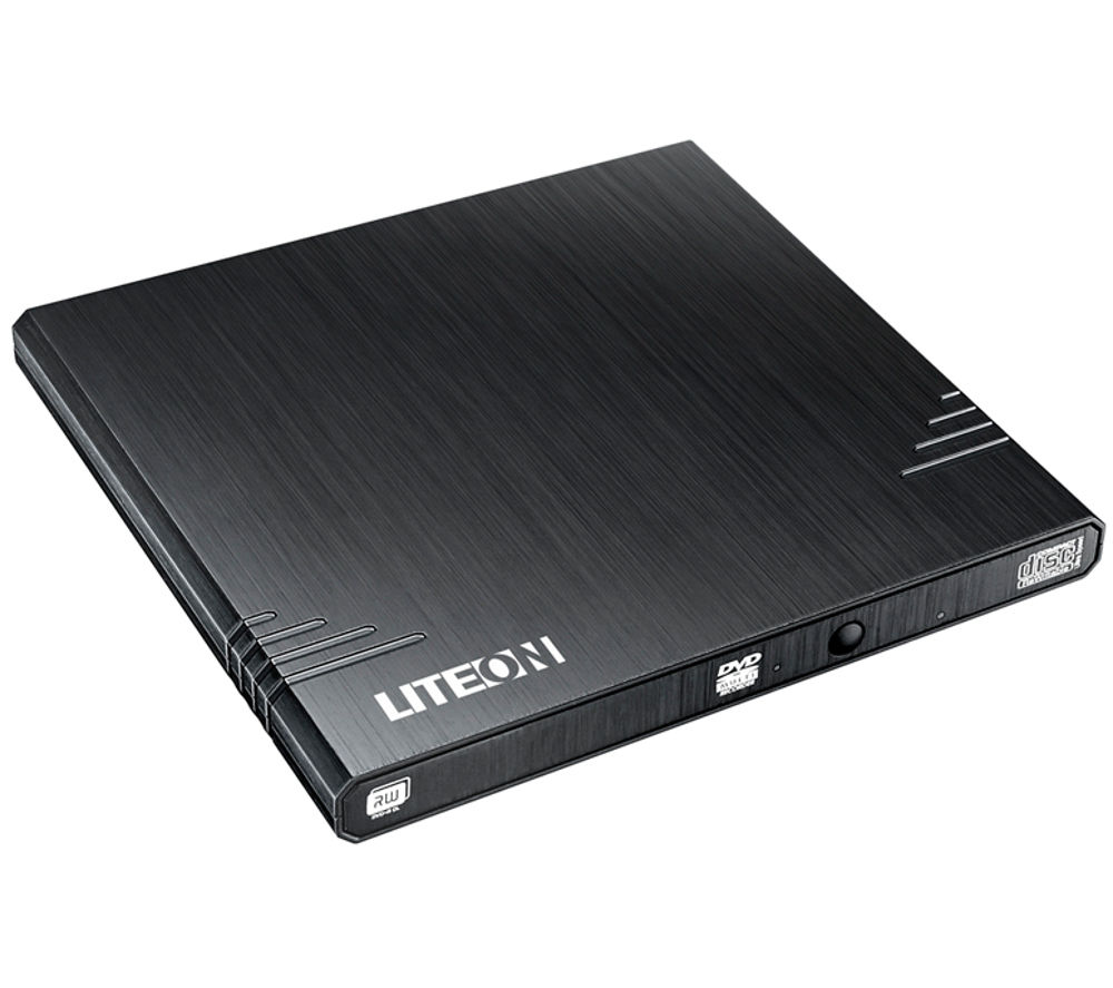 LITE-ON Slim EBAU108 External USB DVD Writer