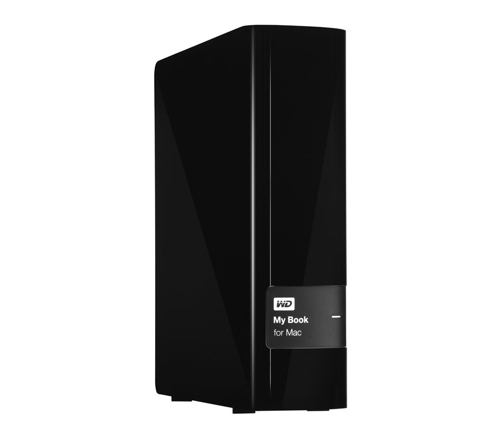 WD My Book for Mac External Hard Drive - 3 TB, Black