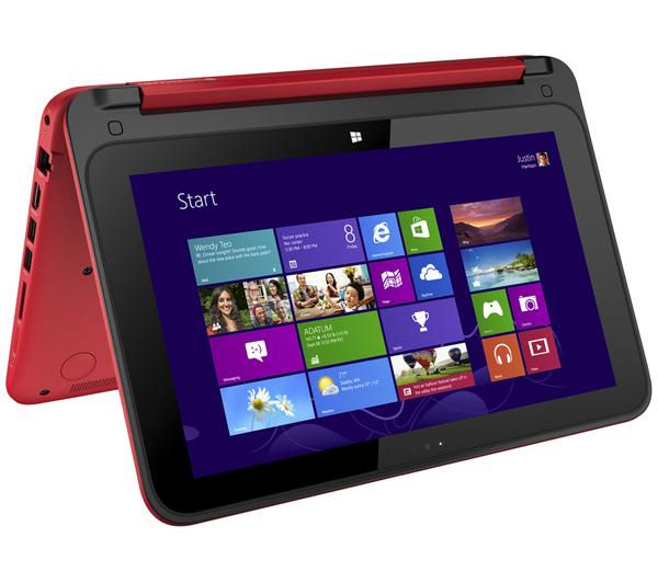 HP Pavilion x360 11n010ea Touchscreen 2 in 1  Red Red