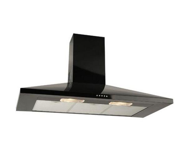 h101pk chimney cooker hood black black aginu. Black Bedroom Furniture Sets. Home Design Ideas
