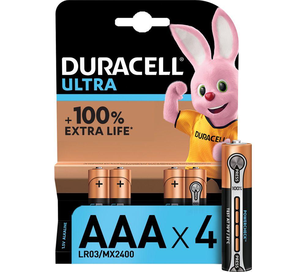 DURACELL LR03/MX2400 Ultra Power AAA Alkaline Batteries