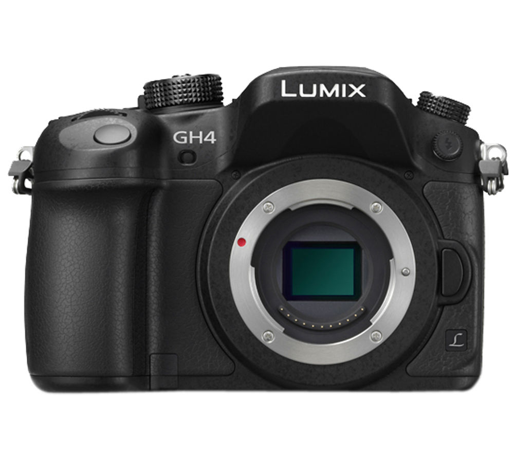 PANASONIC Lumix DMC-GH4EB-K Compact System Camera - Body Only