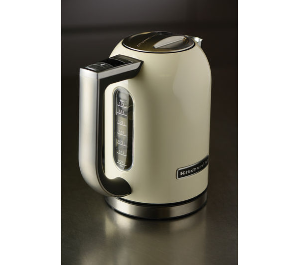 Buy KITCHENAID 5KEK1722BAC Jug Kettle  Almond Cream  Free Delivery  Currys -> Kitchenaid Jug Kettle