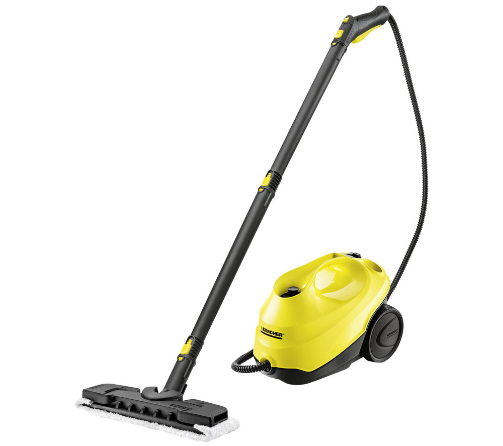 karcher sc1 premium steam cleaner yellow black yellow. Black Bedroom Furniture Sets. Home Design Ideas