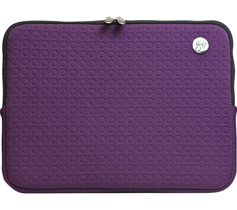 "GOJI 13"" MacBook Sleeve - Purple Circle"