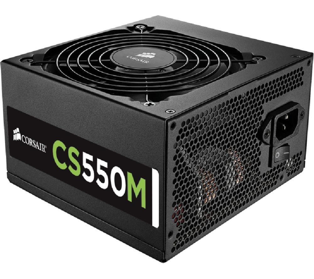 CORSAIR CS550M Gold Modular ATX PSU - 550 W