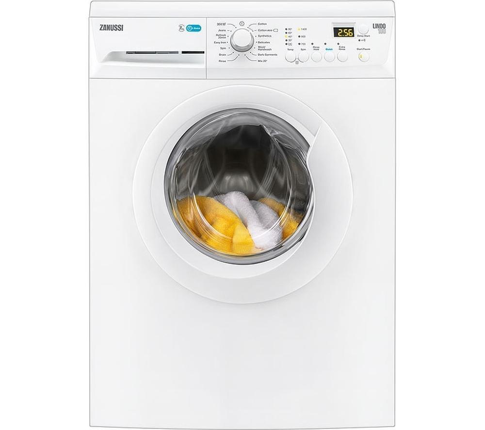 Image of ZANUSSI ZWF71443W Washing Machine - White, White