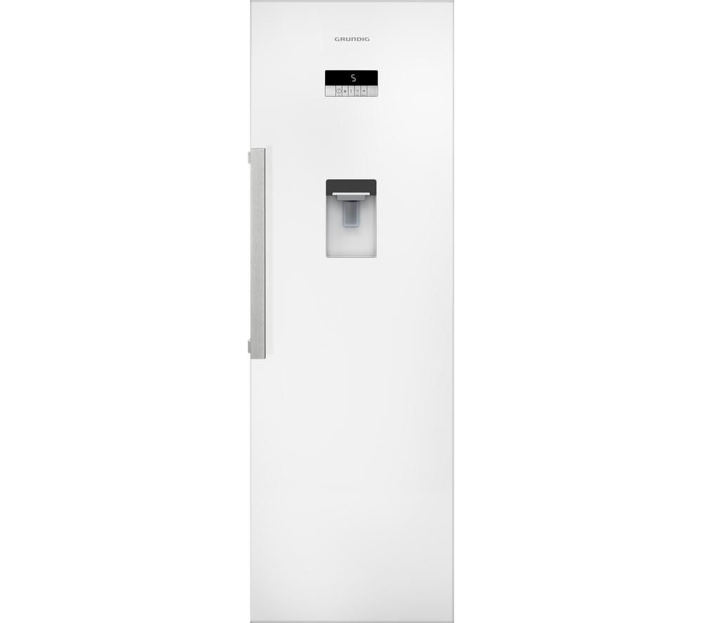 GRUNDIG  GSN10710DW Tall Fridge - White +  GWN48430CW Washing Machine - White