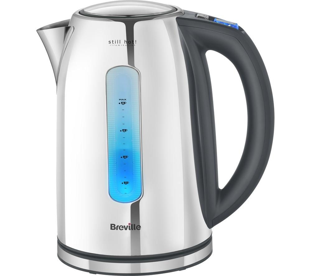 BREVILLE  VKJ846 Still Hot Jug Kettle  Stainless Steel Stainless Steel