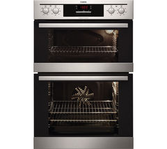AEG DE401302DM Electric Double Oven - Stainless Steel