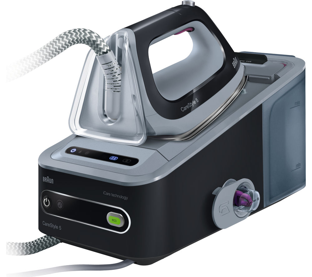 Steam Generator Iron ~ Buy braun carestyle is steam generator iron black