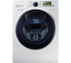 SAMSUNG AddWash™ WW12K8412OW/EU Washing Machine - White