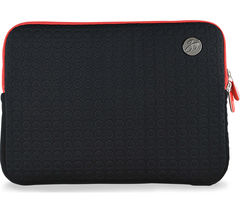 "GOJI GSMBK1216 12"" MacBook Sleeve - Black & Red"