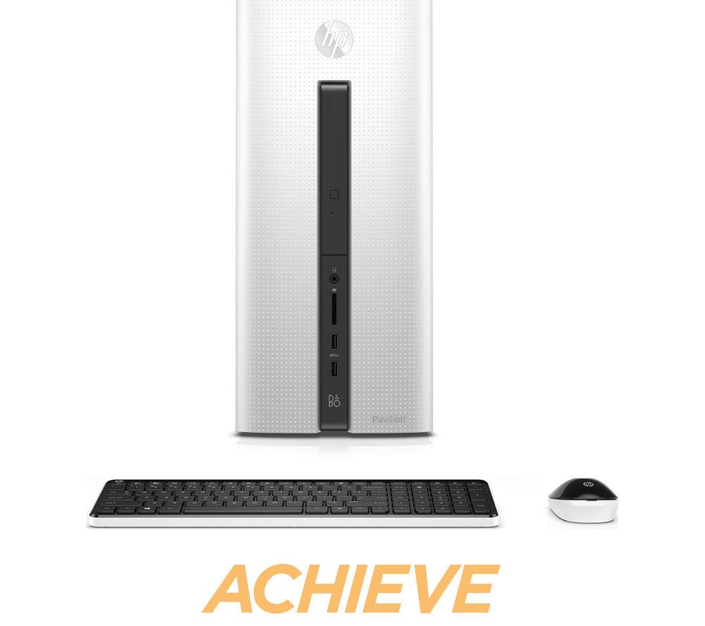 HP Pavilion 550-203na Desktop PC - White