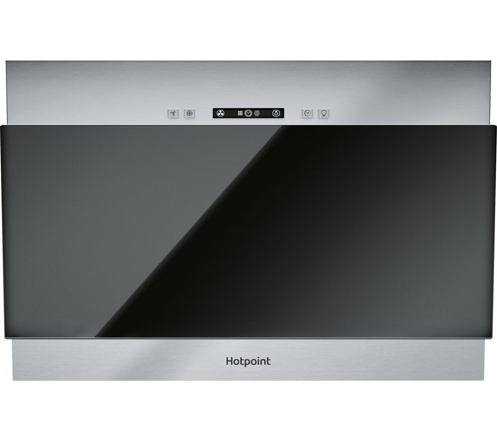 HOTPOINT  PHVP6.4FALK Integrated Cooker Hood  Black Black