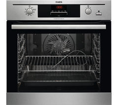 AEG BE500452DM Electric Oven - Stainless Steel