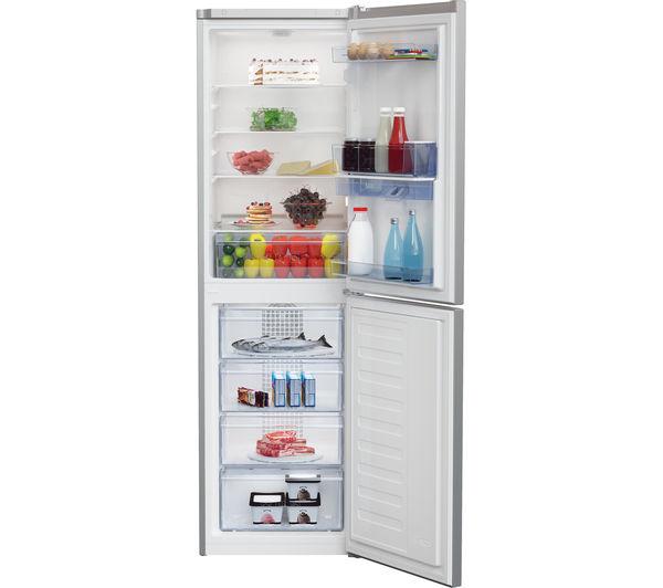 Buy Beko Cfg1582ds 50 50 Fridge Freezer Silver Free