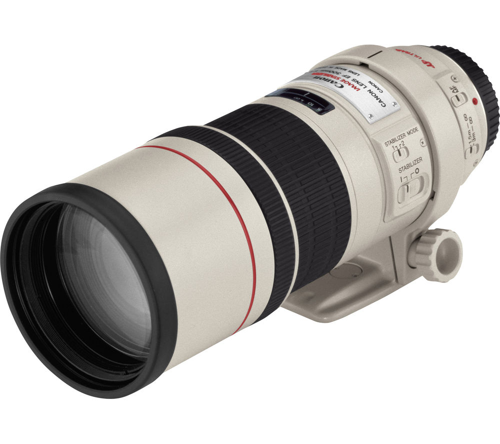 CANON EF 300 mm f/4.0 L IS USM Telephoto Prime Lens