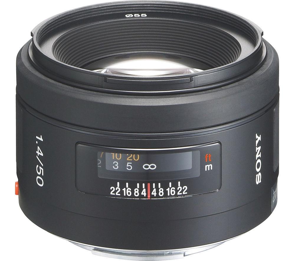 Sony 50 mm f/1.4 Standard Prime Lens