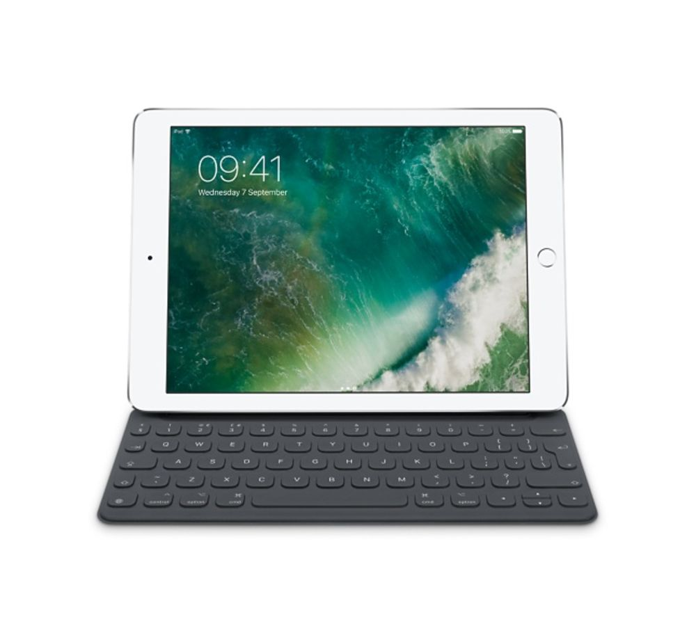 APPLE  Smart Keyboard 9.7 iPad Pro Case  Black UK Layout Black