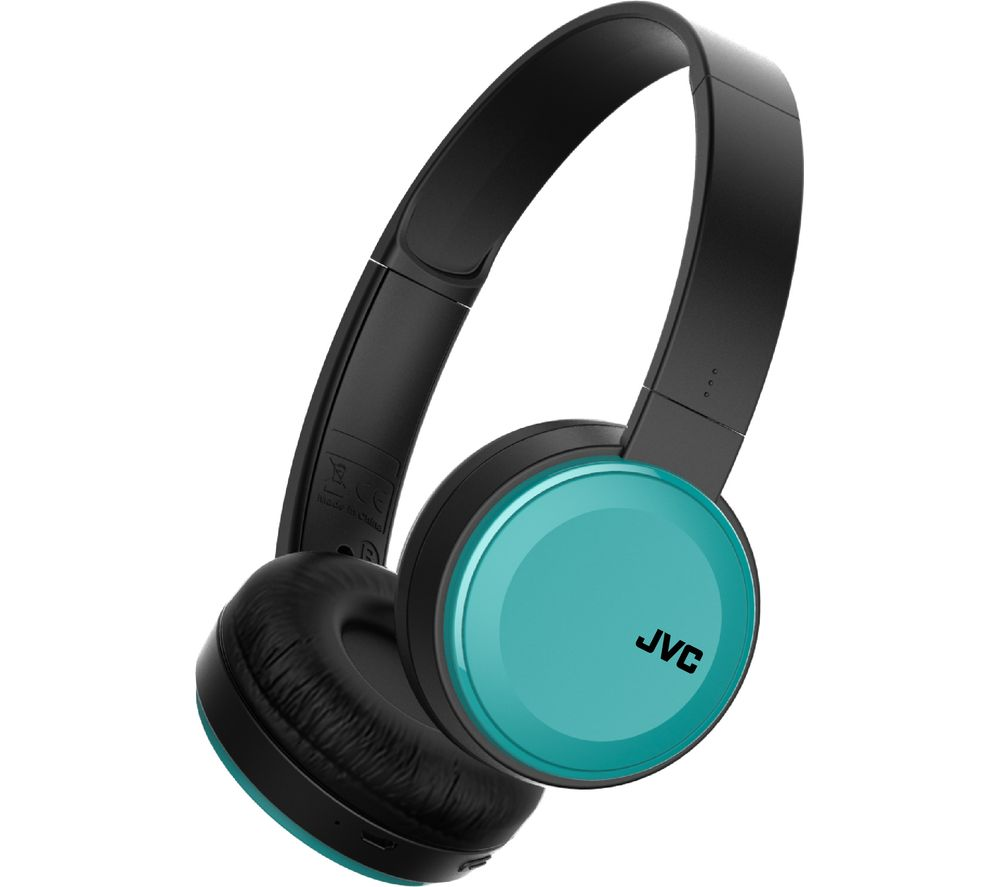 jvc ha s30bt a e wireless bluetooth headphones teal deals pc world. Black Bedroom Furniture Sets. Home Design Ideas