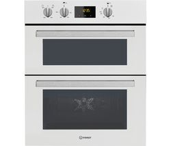 INDESIT IDU 6340 Electric Built-under Double Oven - White