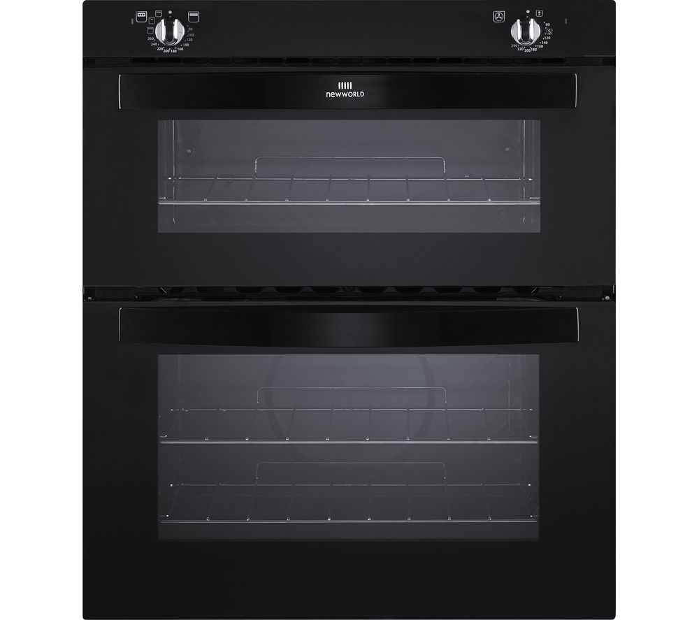 NEW WORLD NW701DO Electric Built-under Double Oven - Black