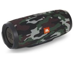 JBL Charge 3 Squad Portable Wireless Speaker - Camouflage