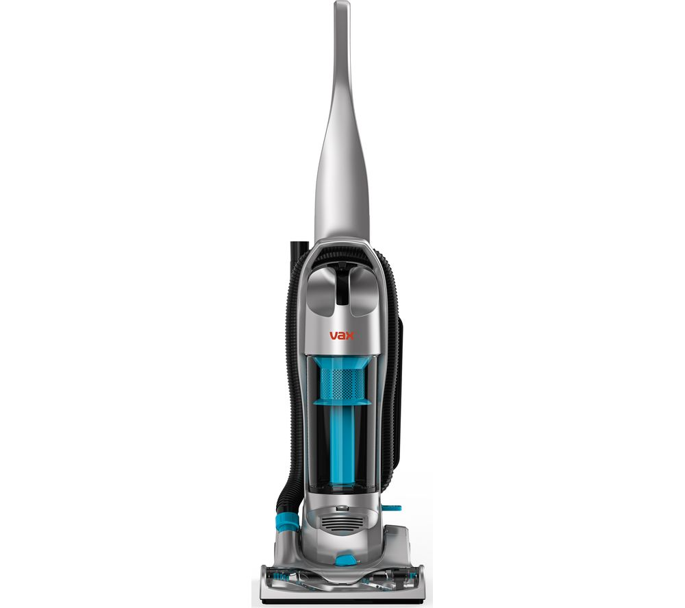 VAX Power Compact UCNBPCP1 Upright Bagless Vacuum Cleaner  Grey & Blue Grey