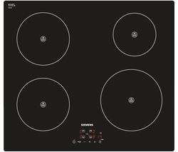 SIEMENS EH611BA18E Electric Induction Hob - Black